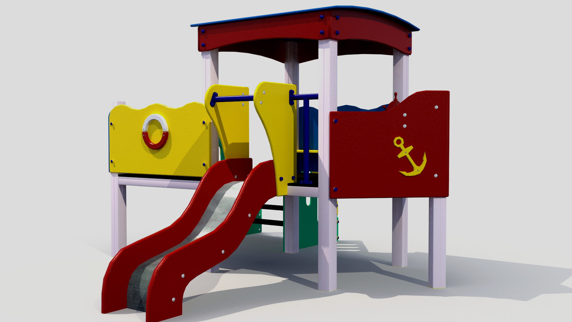 children slide 3d model 3ds max fbx obj 264020