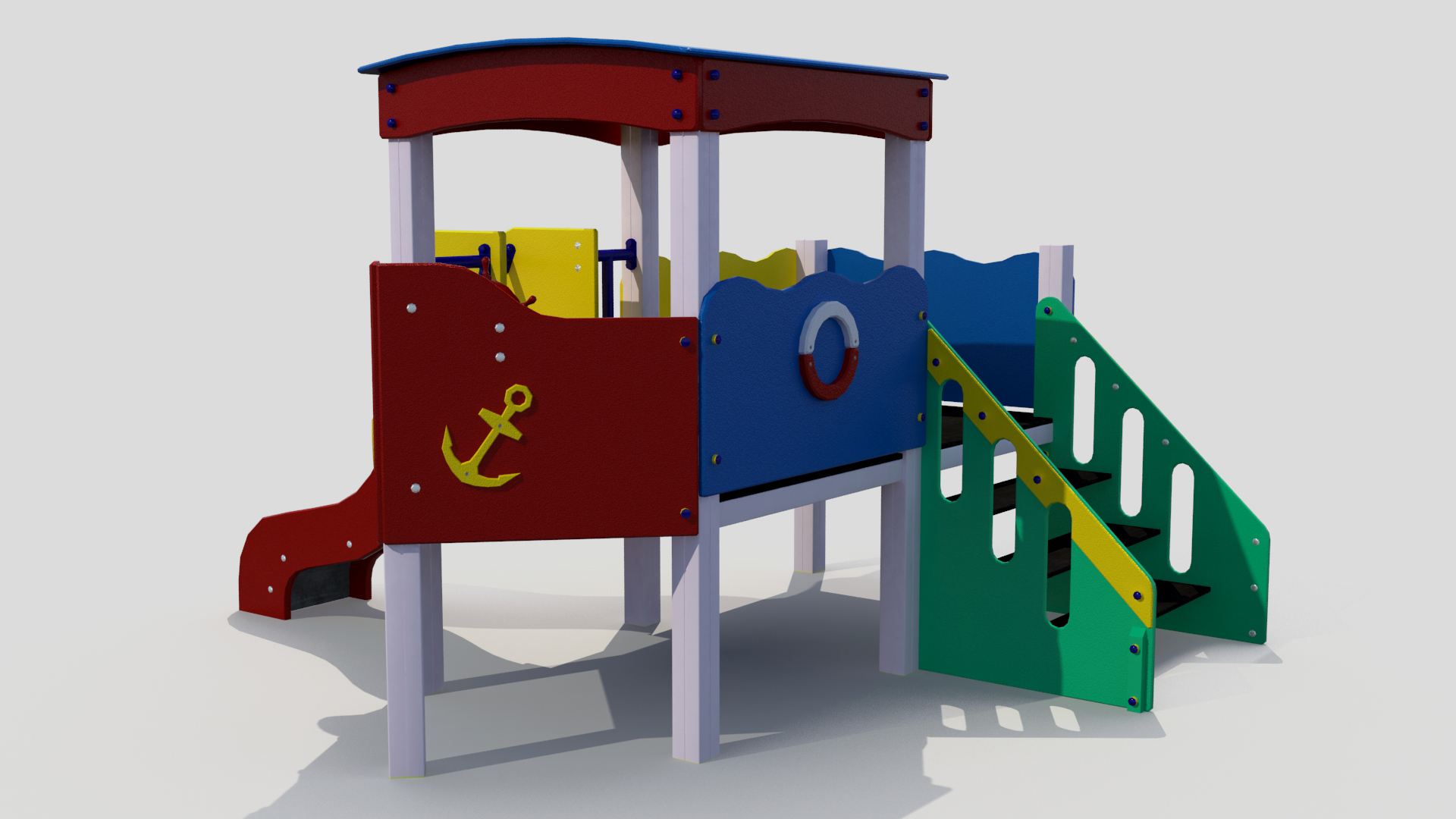 children slide 3d model 3ds max fbx obj 264021