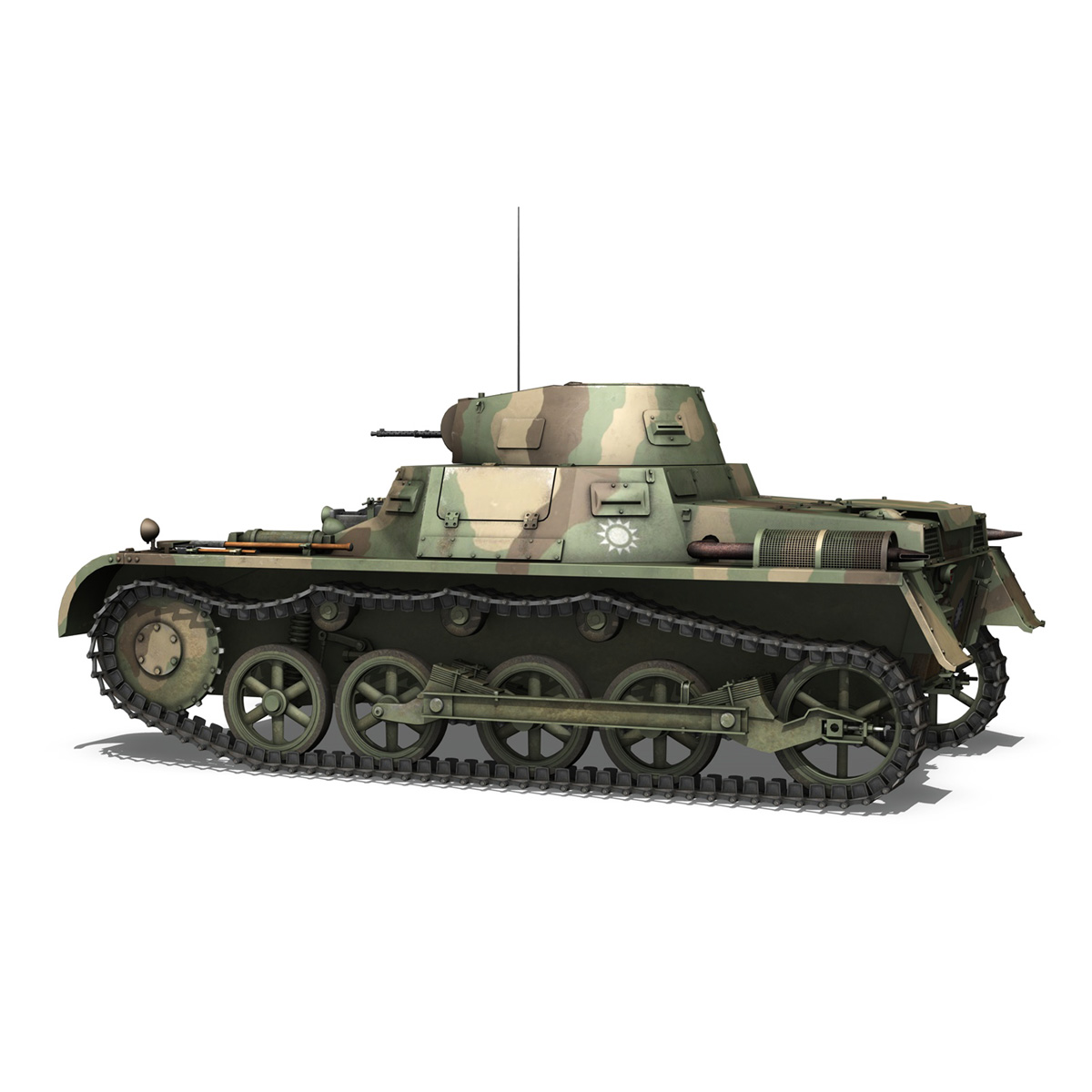 panzer 1 – pzkpfw 1 ausf.a – china 3d model 3ds c4d lwo obj 264082
