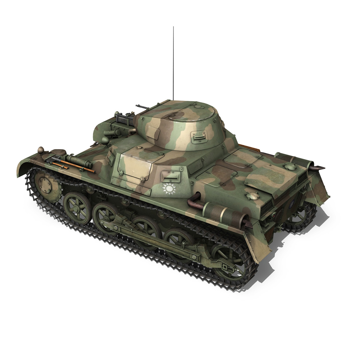 panzer 1 – pzkpfw 1 ausf.a – china 3d model 3ds c4d lwo obj 264083