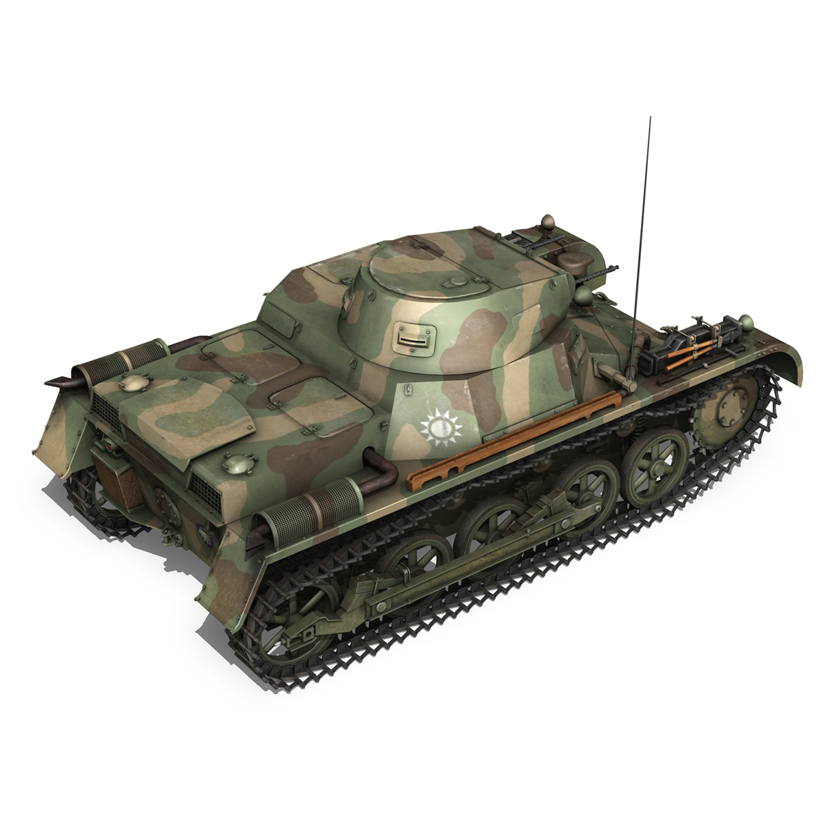 panzer 1 – pzkpfw 1 ausf.a – china 3d model 3ds c4d lwo obj 264085