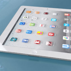 Ipad Generic 3d model 3d printing high poly render ready