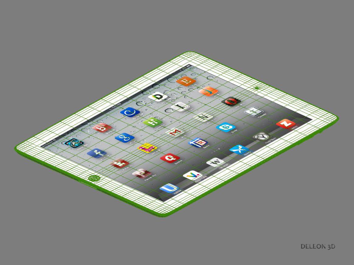 ipad generic 3d model max 3ds lxo fbx obj stl jpeg 264173