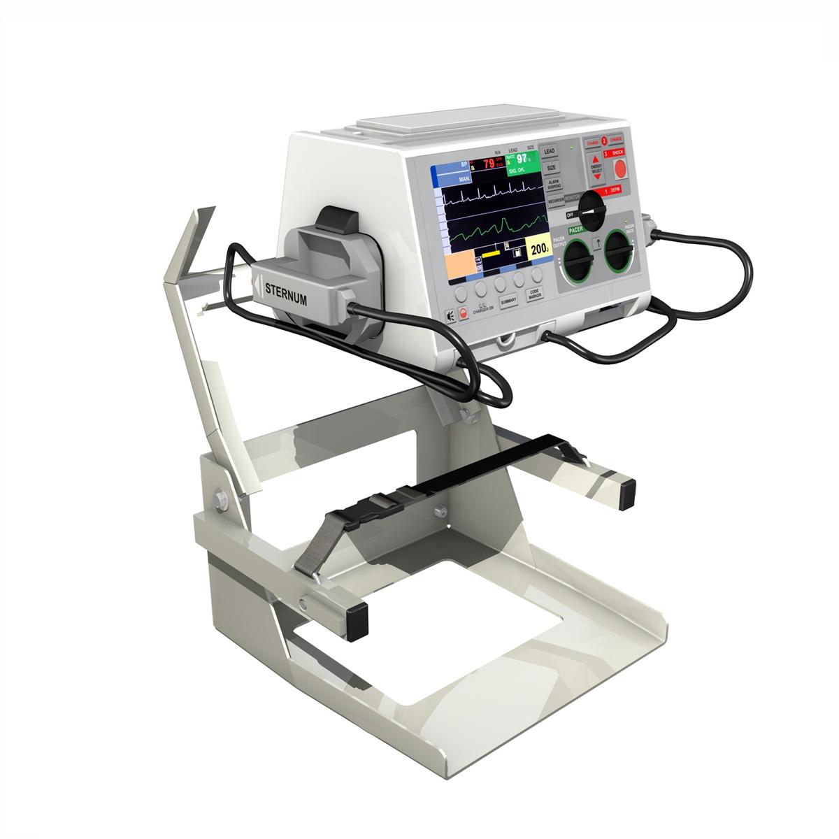defibrillator 3d model 3ds c4d lwo obj 264213