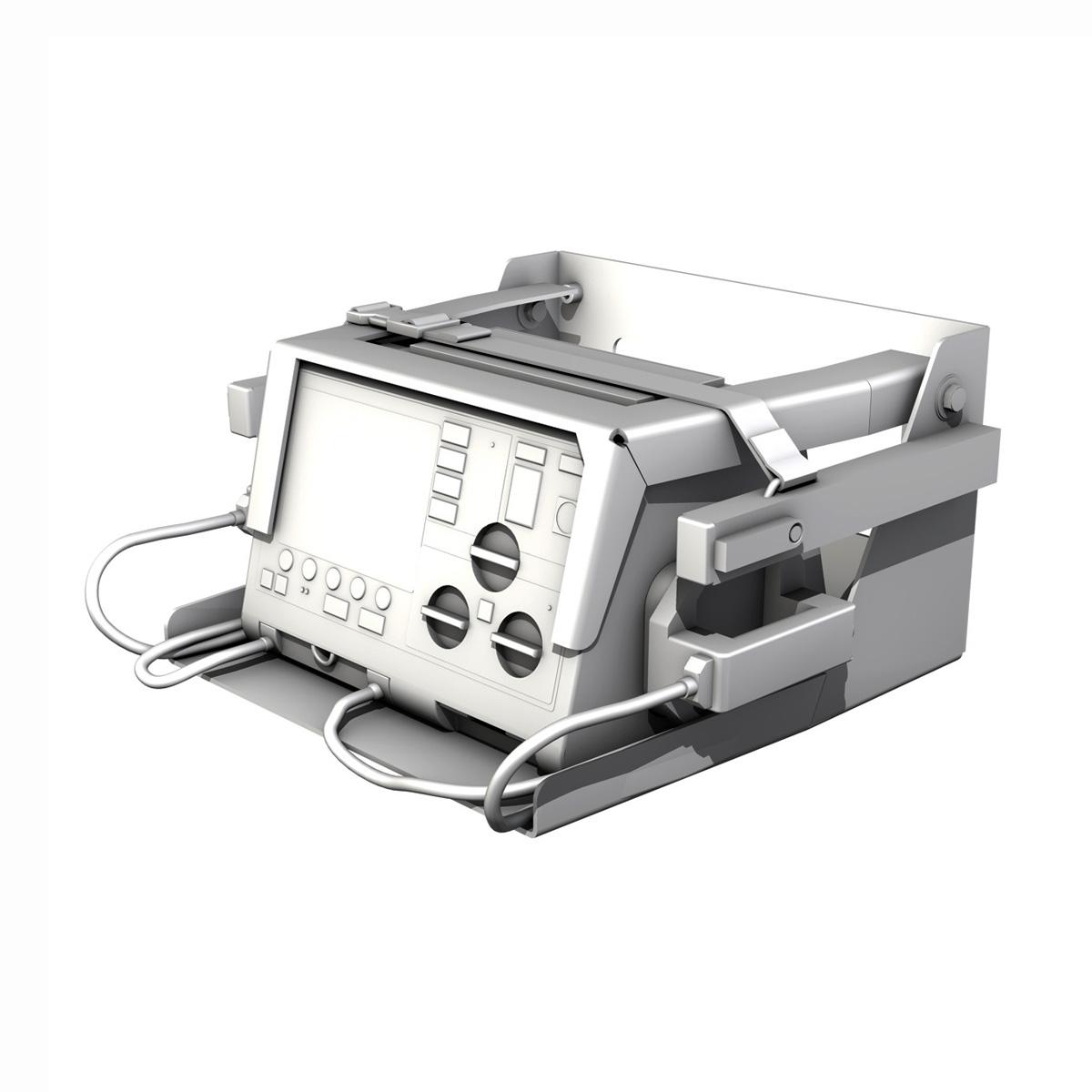 defibrillator 3d model 3ds c4d lwo obj 264215