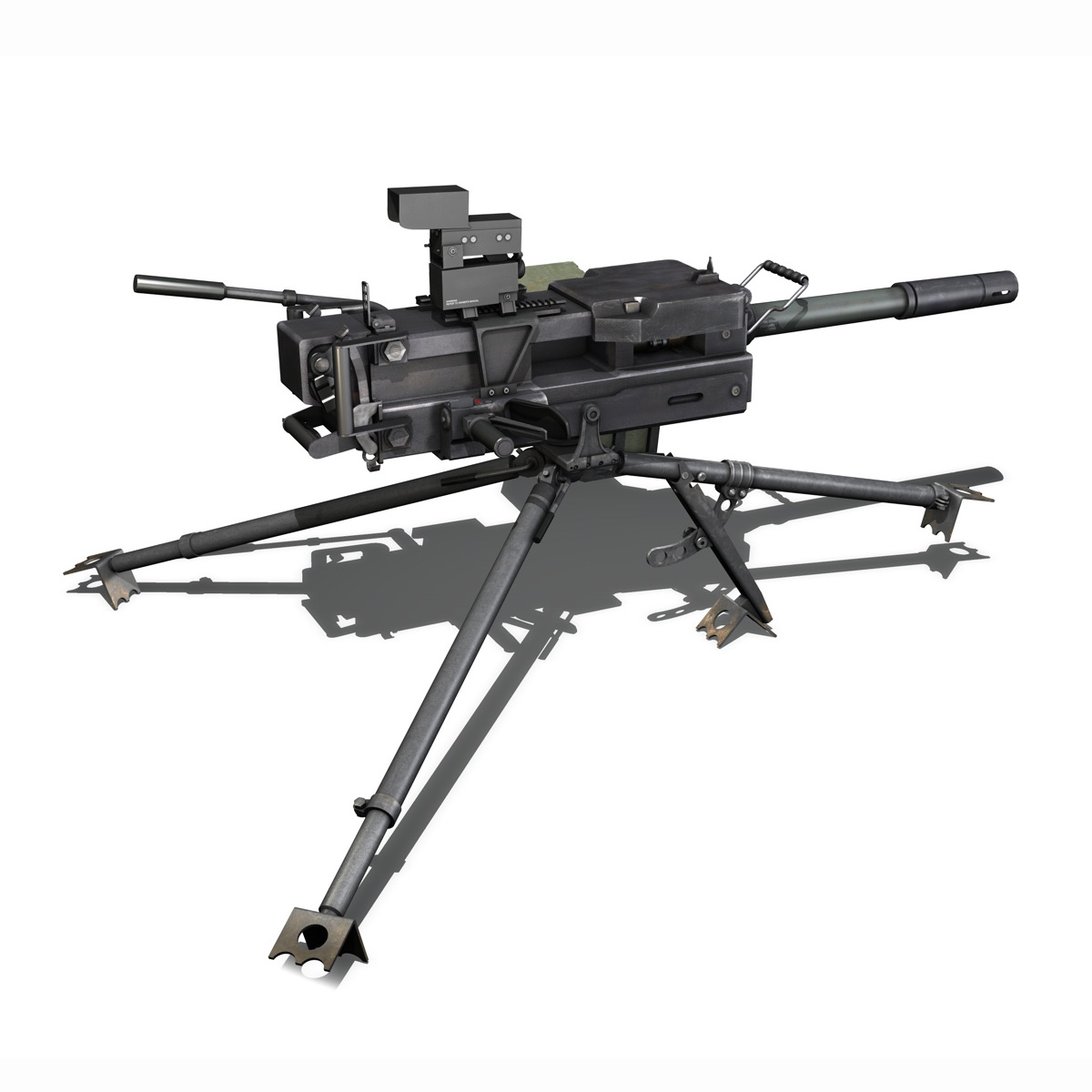gmg 40mm grenade machine gun 3d model 3ds c4d lwo obj 264284