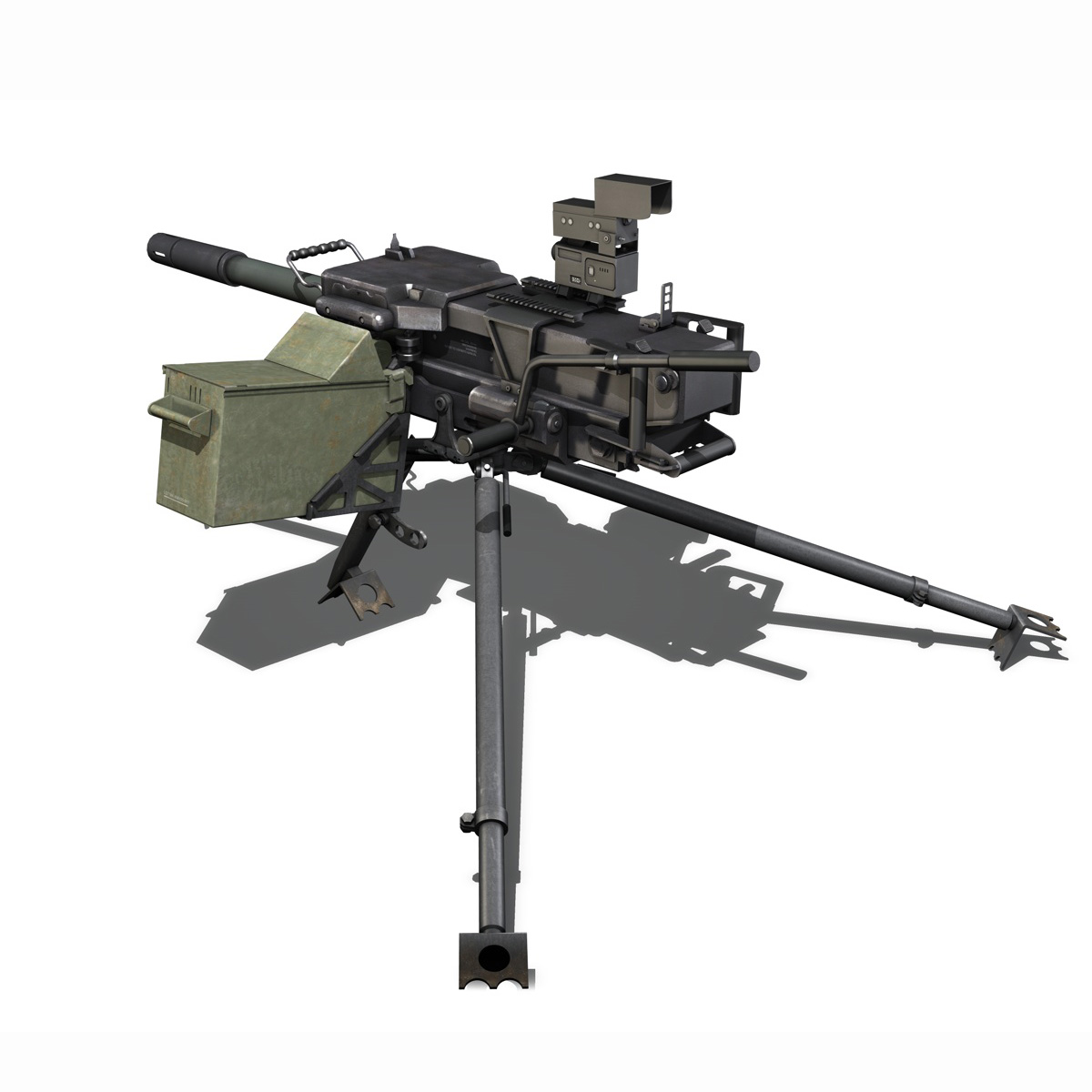 gmg 40mm grenade machine gun 3d model 3ds c4d lwo obj 264285