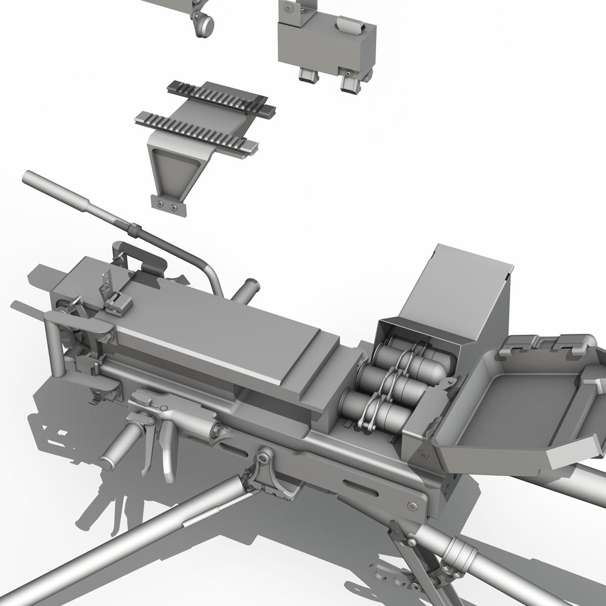 40mm qumbara pulemyotu gmg 3d model c4d lwo 3dm obj 264304