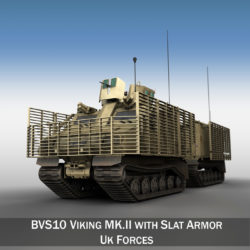 BVS10 Viking MKII - UK Forces 3d model 0