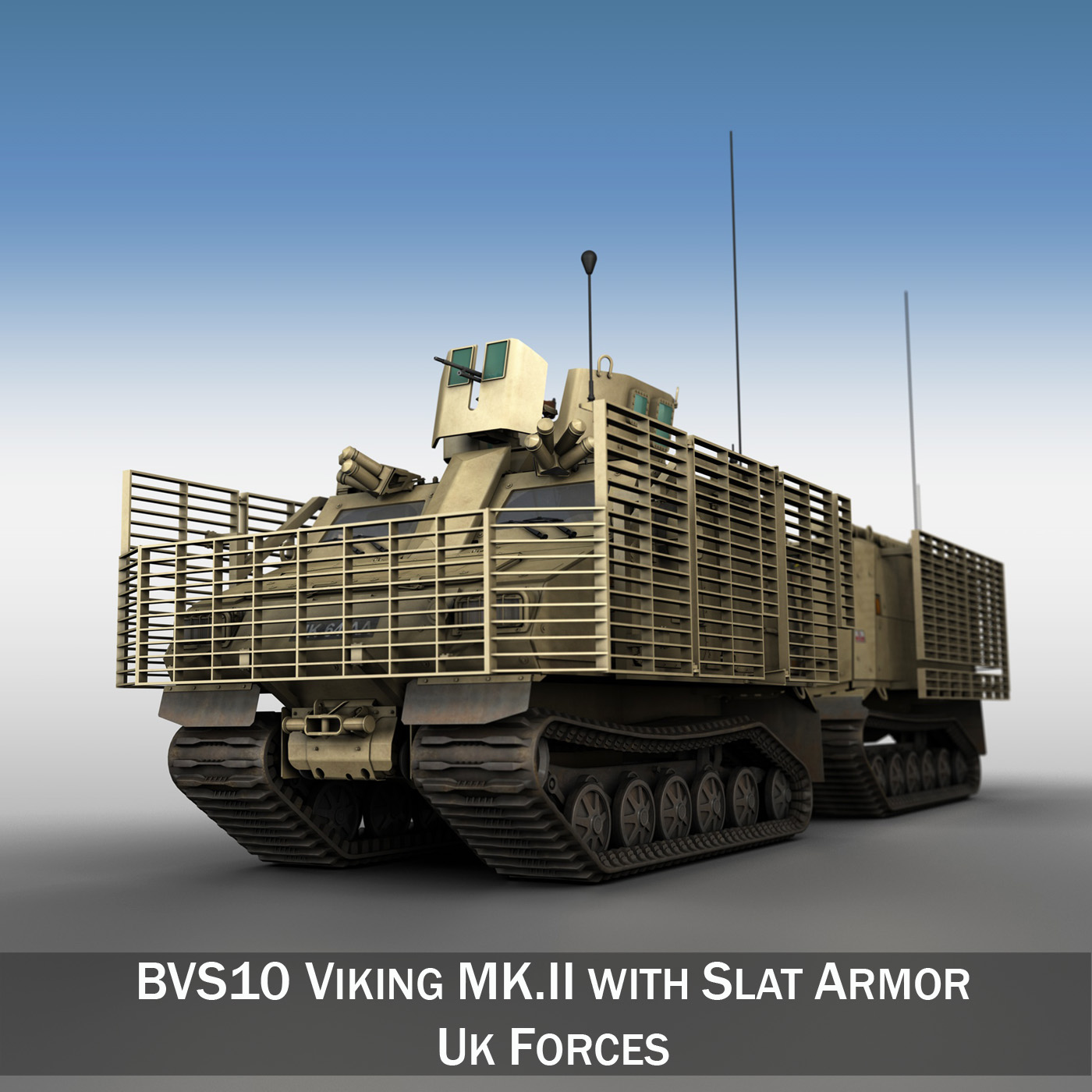 bvs10 viking mkii - uk snage 3d model 3ds c4d lwo texture obj 264347