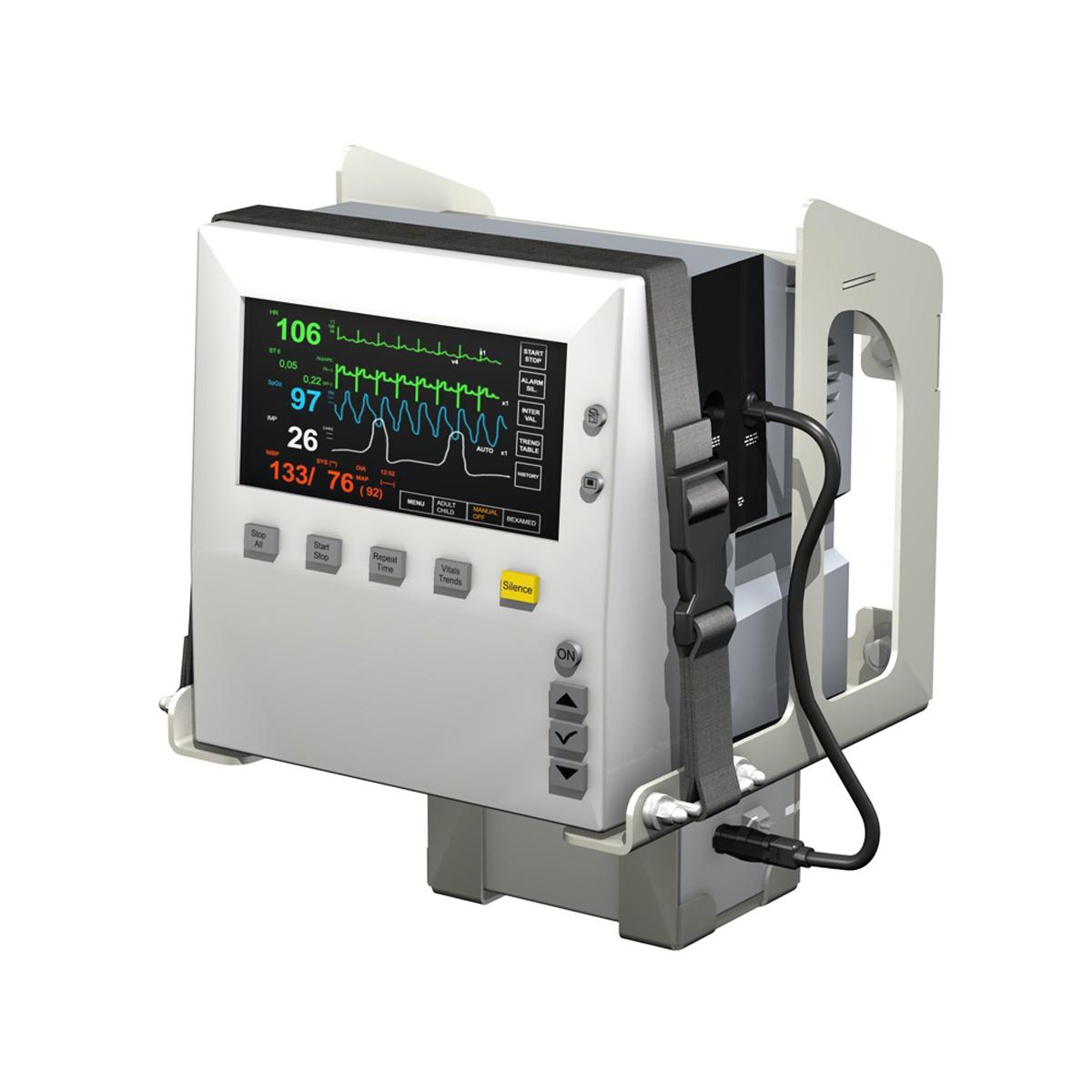 Monitor i pacientit 3d model 3ds c4d lwo obj 264445