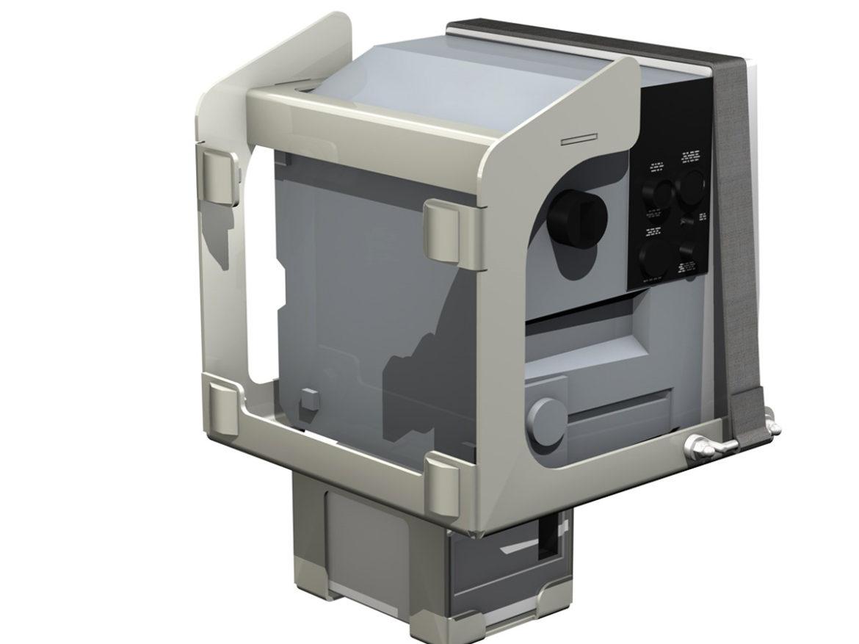 Patient Monitor 3d model 3ds c4d lwo lws lw obj