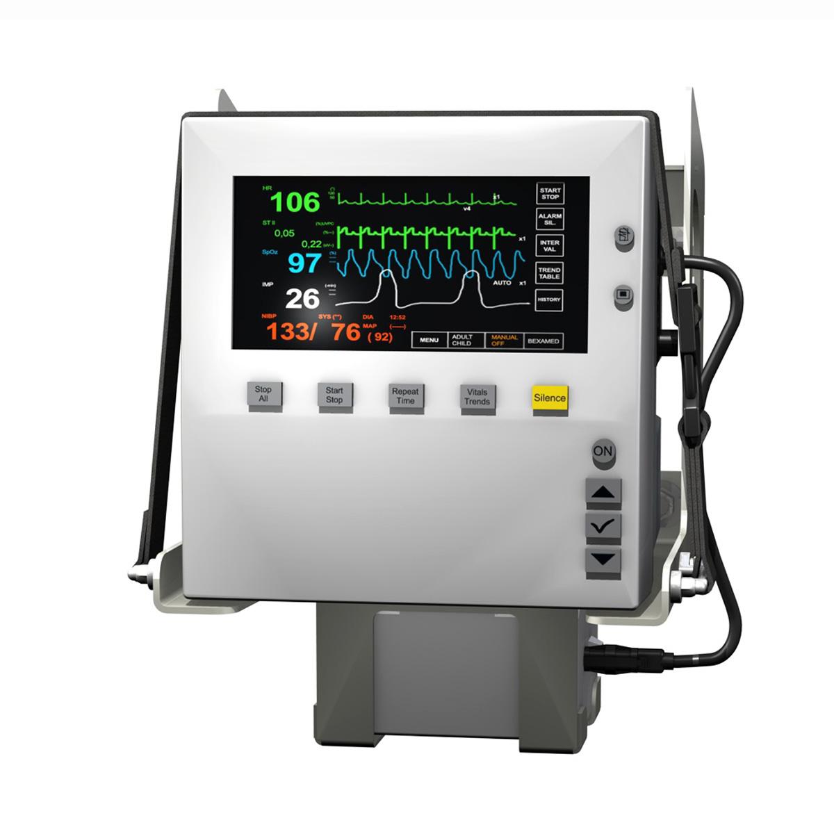 Patient Monitor 3d model 3ds c4d lwo obj 264449