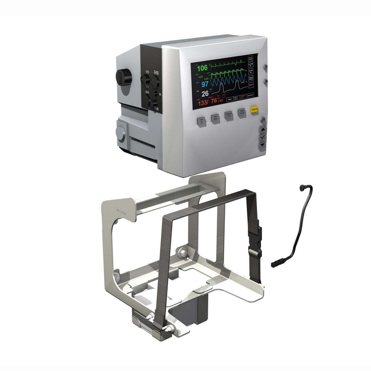 Monitor i pacientit 3d model 3ds c4d lwo obj 264450