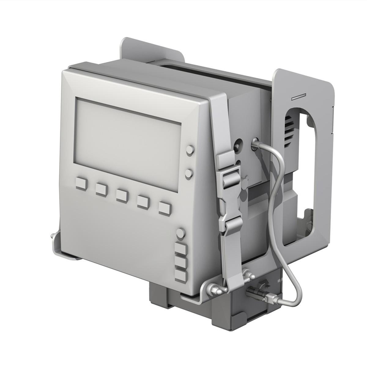 Monitor i pacientit 3d model 3ds c4d lwo obj 264451