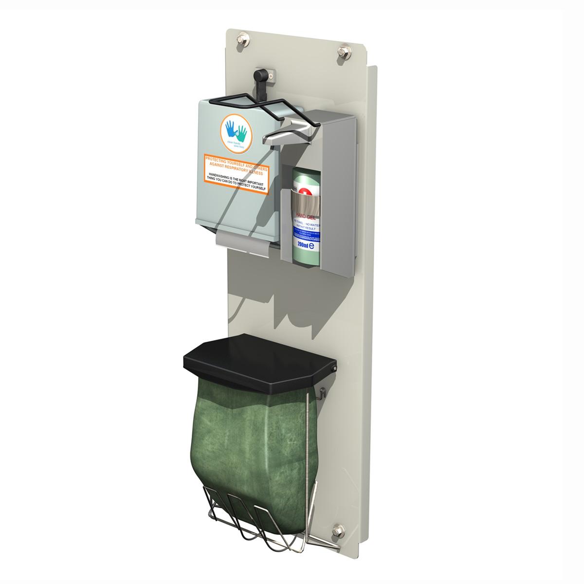 hand sanitizer station 3d model 3ds c4d lwo obj 264460