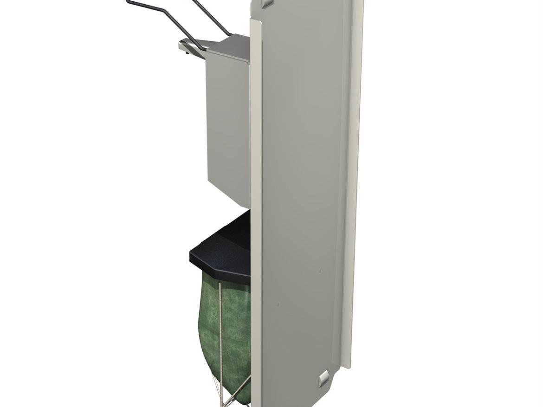 Hand Sanitizer Station 3d model 0