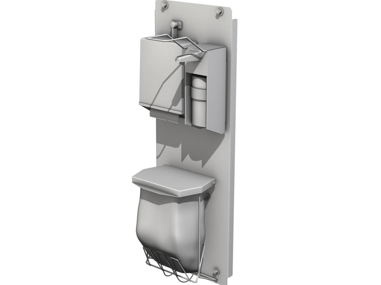Hand Sanitizer Station 3d model 3ds c4d lwo lws lw obj