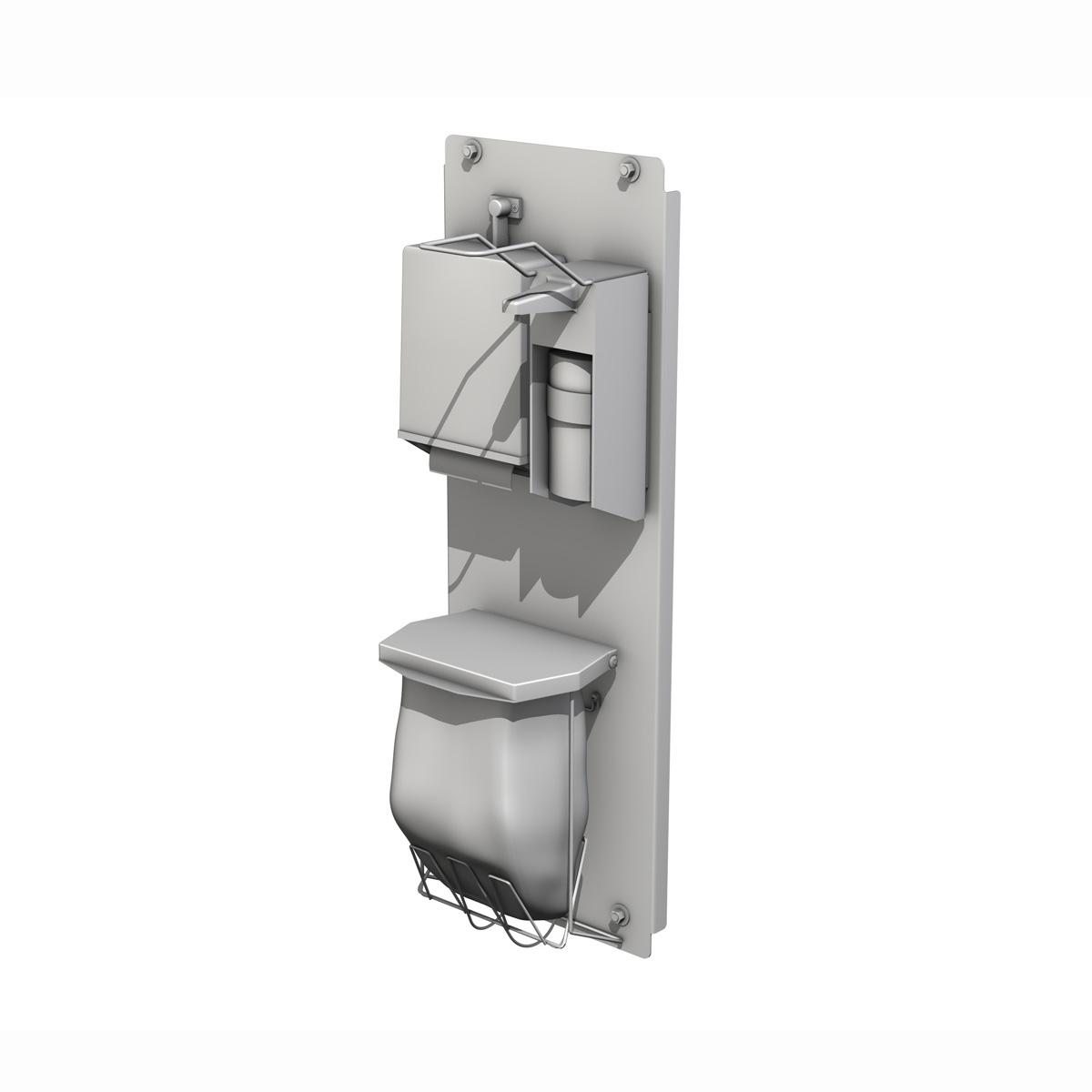 hand sanitizer station 3d model 3ds c4d lwo obj 264463