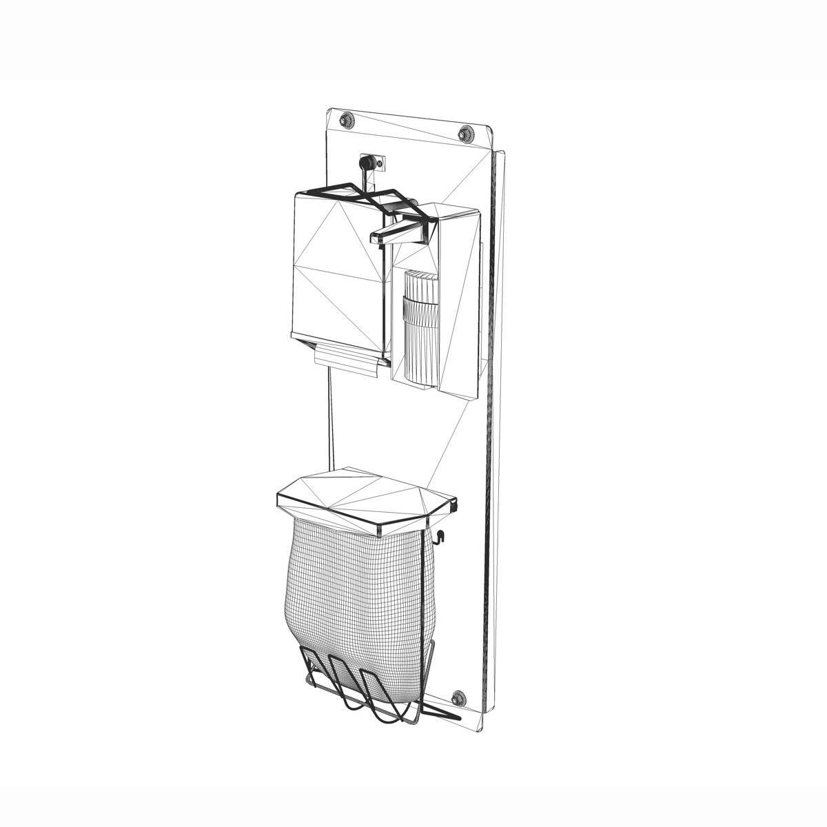 hand sanitizer station 3d model 3ds c4d lwo obj 264464