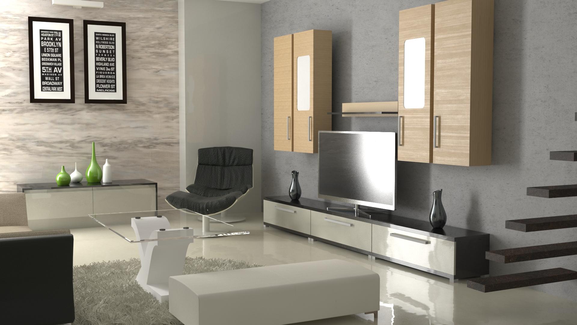 interior design 01 3d model obj max 264660