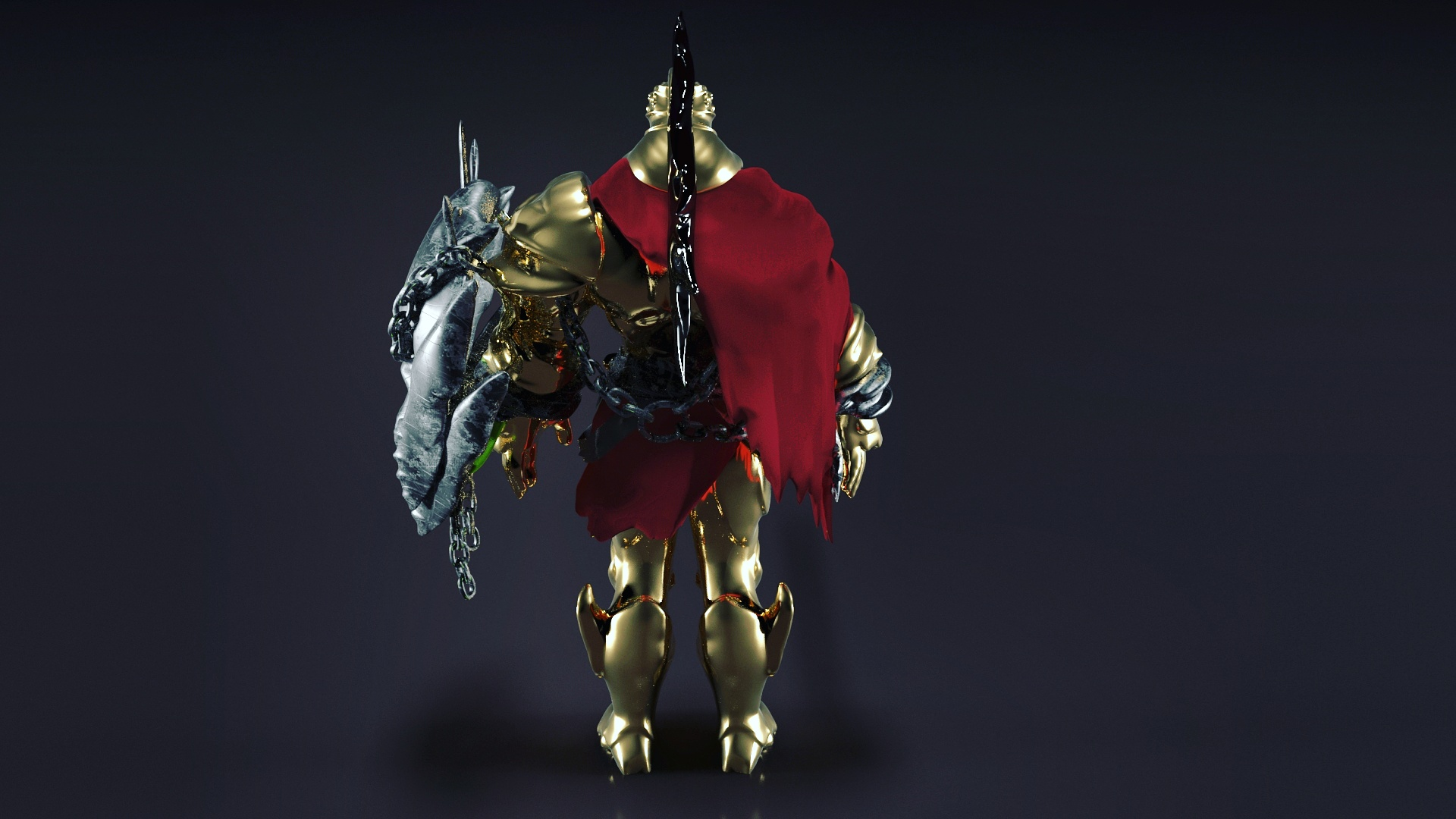 Ares character - Smite pc game 3D Model | FlatPyramid