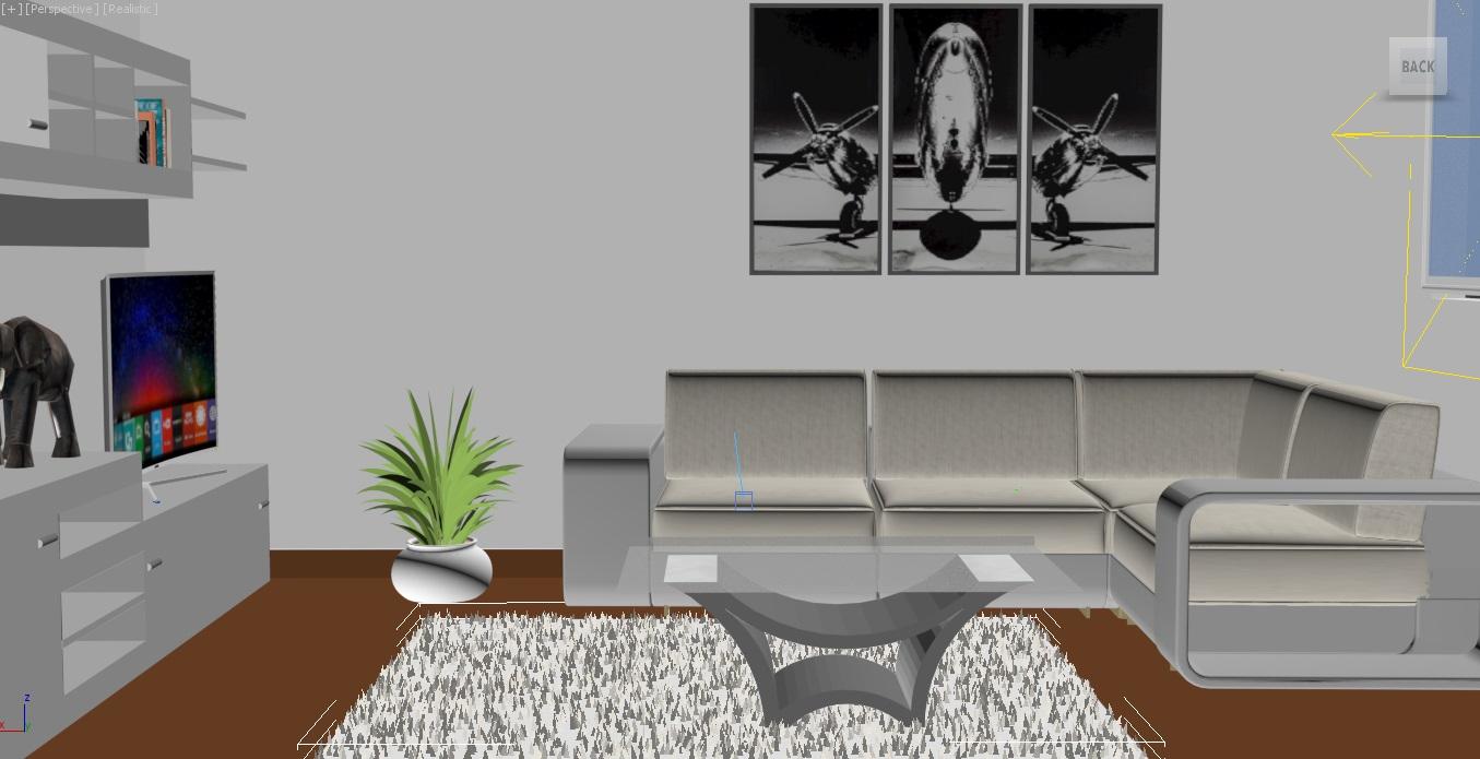 интерьер дизайн 3d загвар 3ds max obj 264674