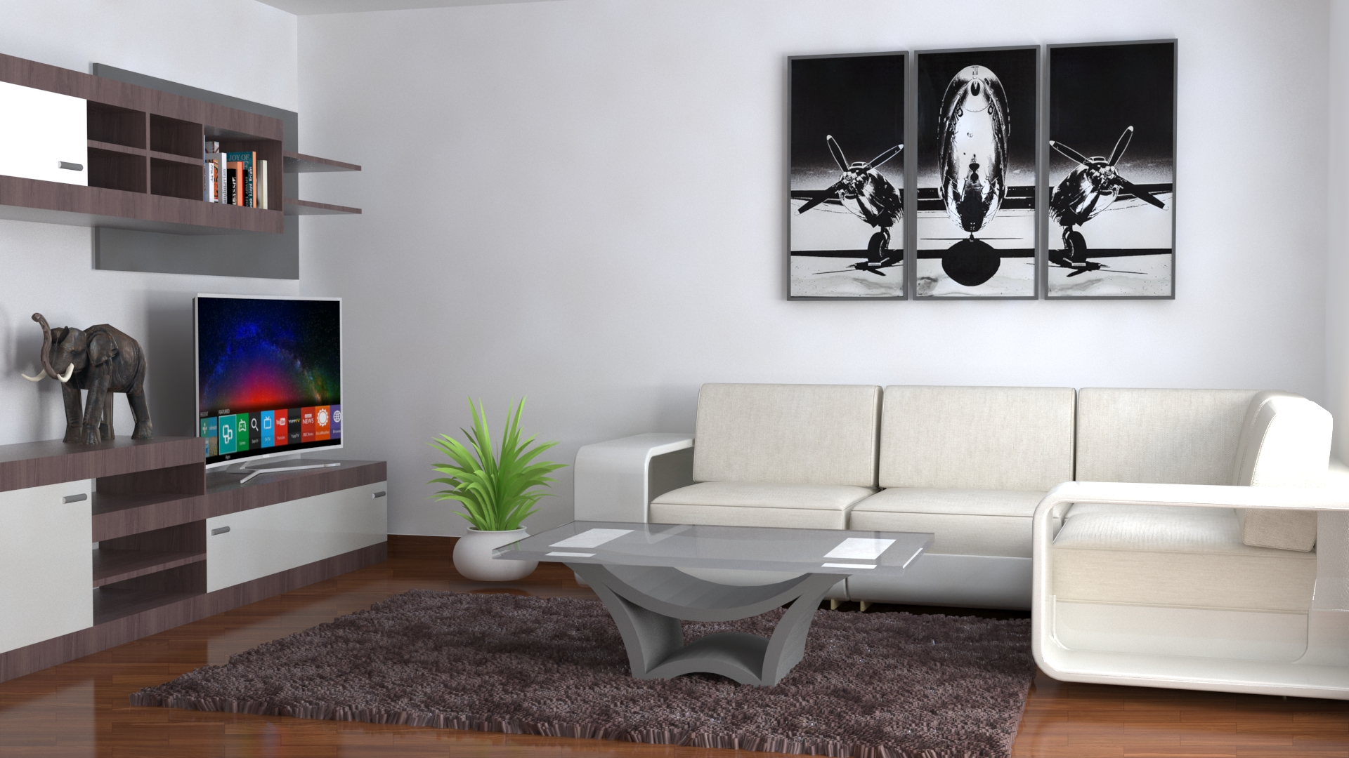 Interior Design 3d Model 264676