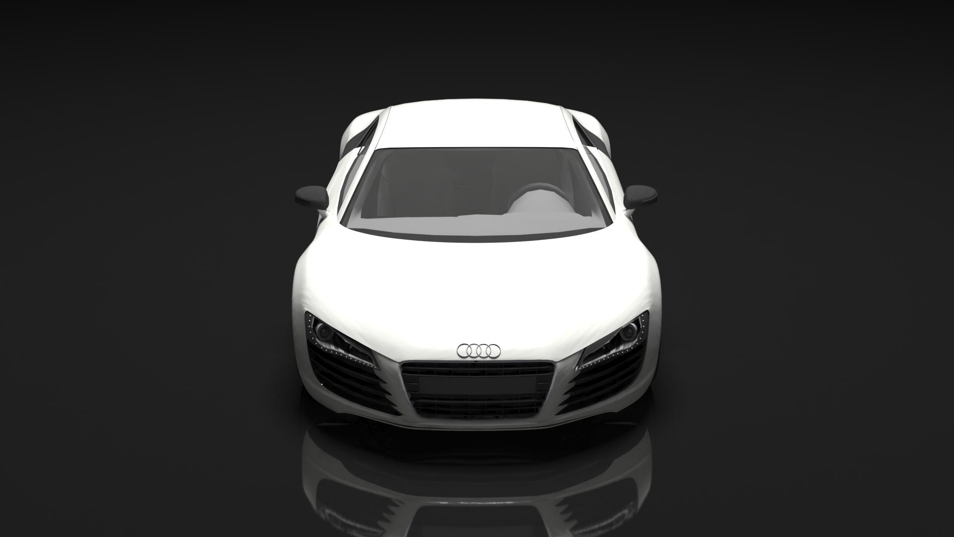 Audi r8 model 3d model  265034