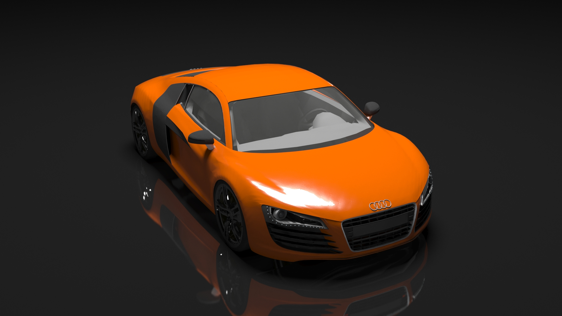 audi r8 model 3d model buy audi r8 model 3d model. Black Bedroom Furniture Sets. Home Design Ideas