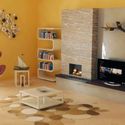 Interior design living room 3d model render ready