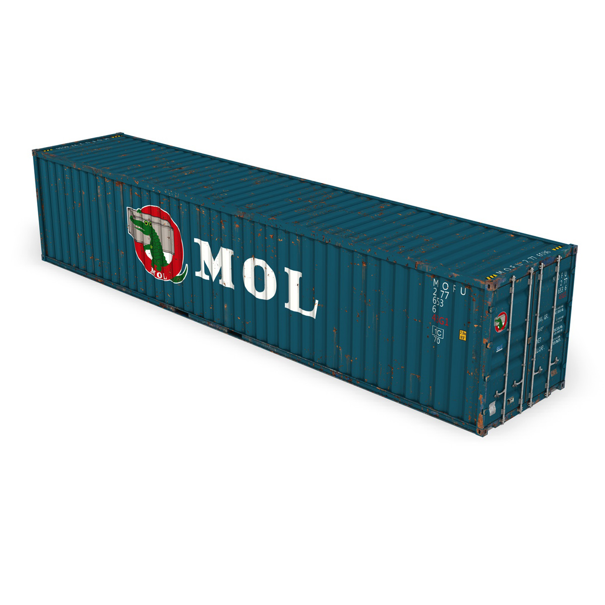 40ft shipping container – mol 3d model 3ds fbx lwo lw lws obj c4d 265133