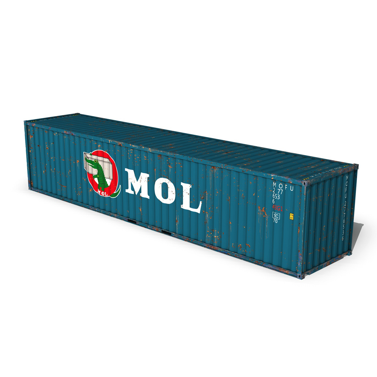 40ft shipping container – mol 3d model 3ds fbx lwo lw lws obj c4d 265136