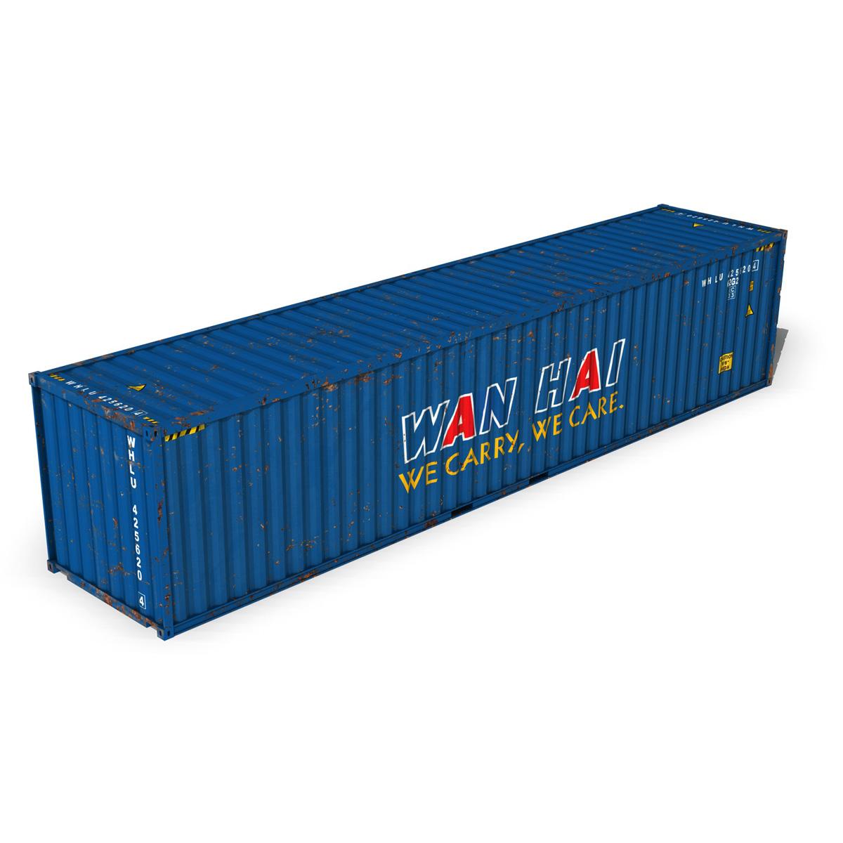 40ft тээврийн чингэлэг - Xan Xian 3d загвар 3ds fbx II lws о о о c4d 265154
