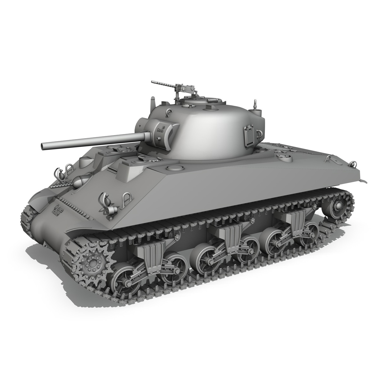 m4a2 sherman – colorado 3d model 3ds fbx lwo lw lws obj c4d 265324