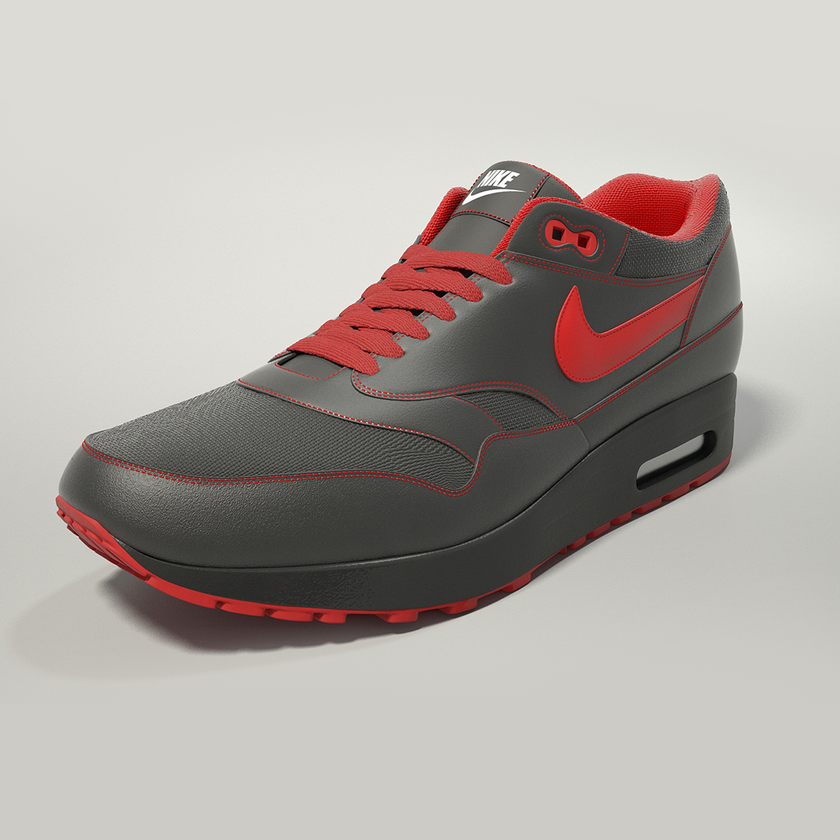 nike air max 1 3d model max obj fbx jpeg 265398