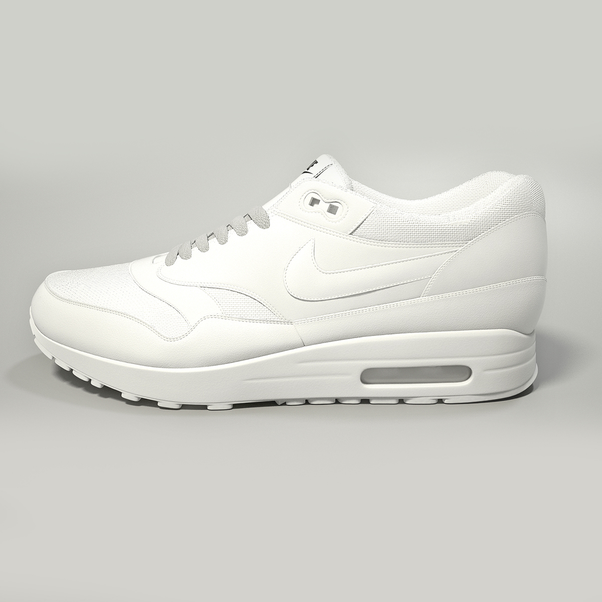 nike air max 1 3d model max obj fbx jpeg 265399