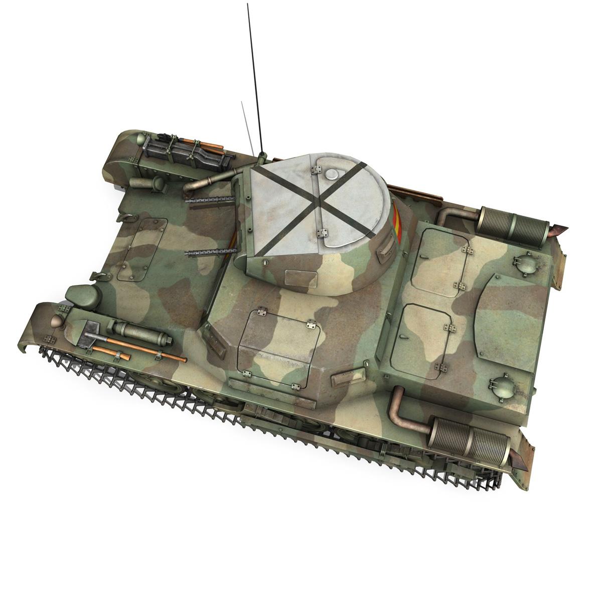 pzkpfw 1 – panzer 1 – ausf. a – g 3d model 3ds fbx lwo lw lws obj c4d 265455
