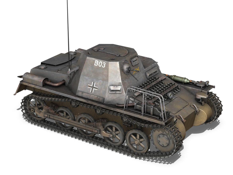 SD.KFZ 265 - klPzBefWg - Ausf. A - B03 3d model 0