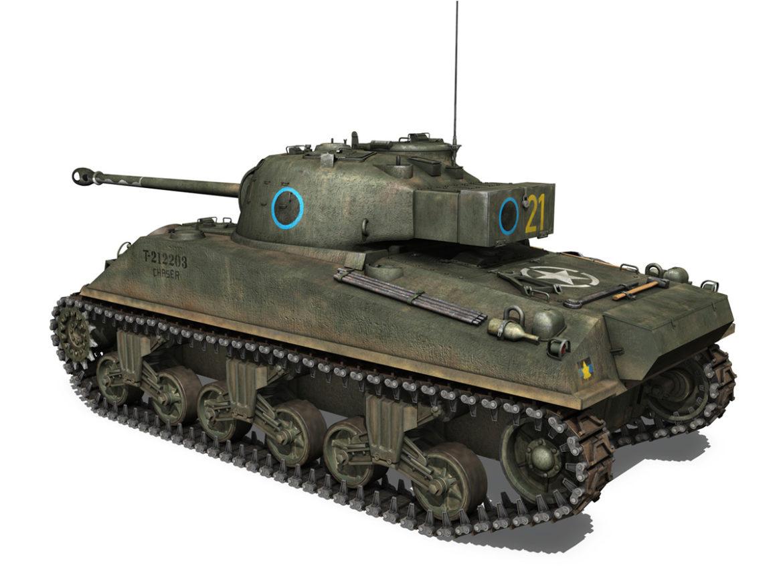 Sherman MK VC Firefly - Chaser 3d model 0