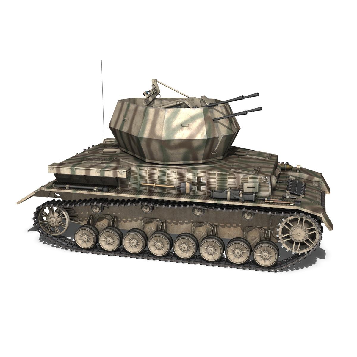 flakpanzer iv - wirbelwind.