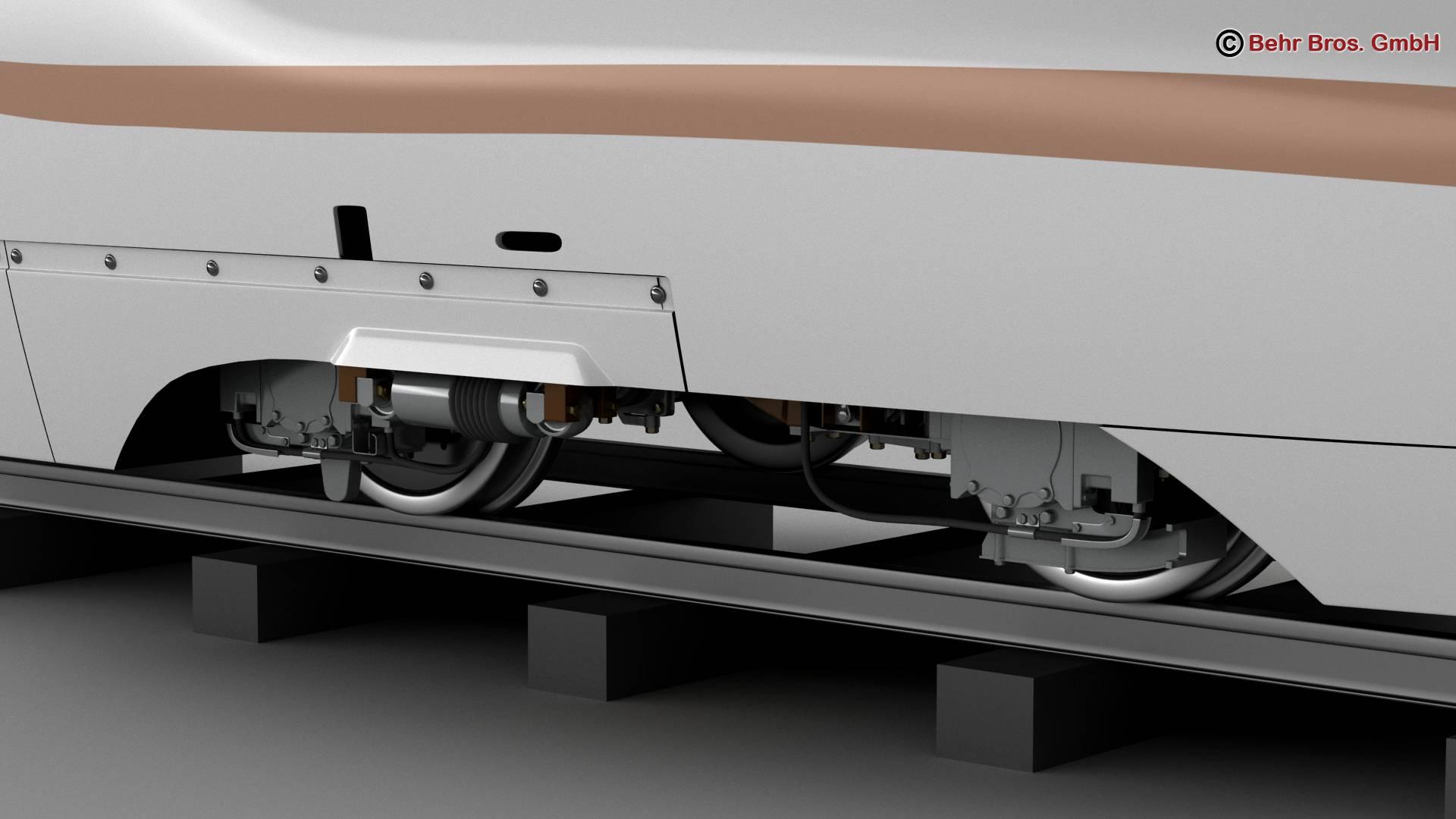 shinkansen e7 3d model 3ds max fbx c4d lwo ma mb obj 265646