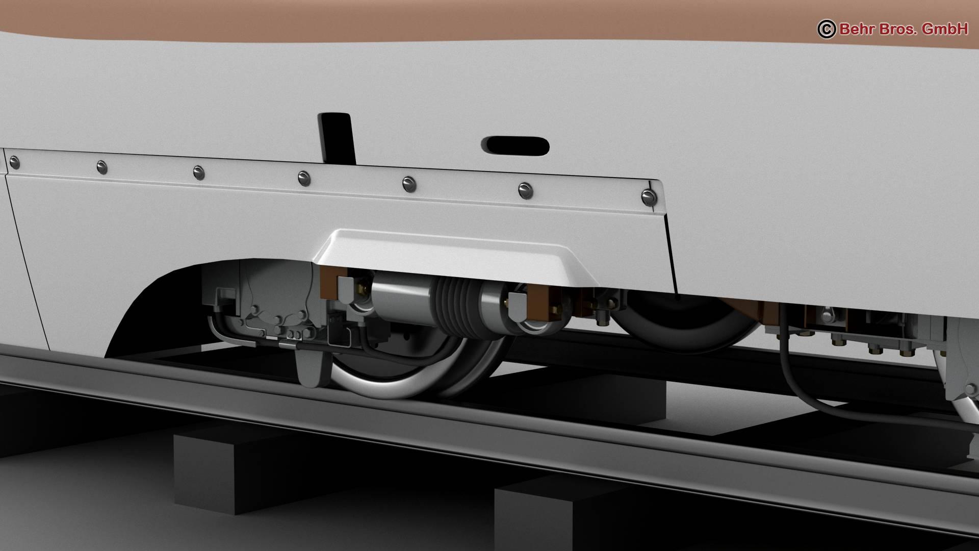 shinkansen e7 3d model 3ds max fbx c4d lwo ma mb obj 265647