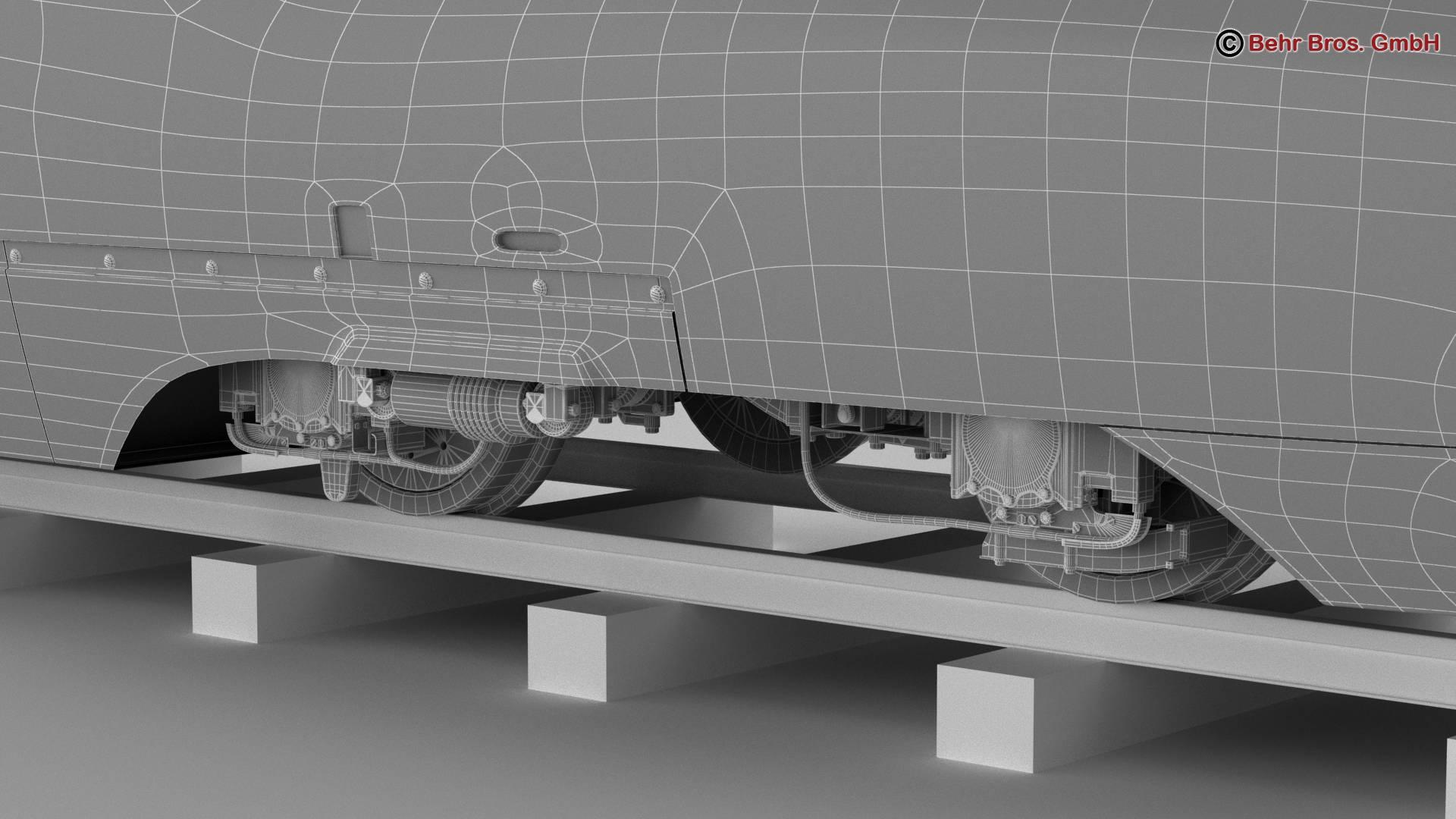 shinkansen e7 3d model 3ds max fbx c4d lwo ma mb obj 265669
