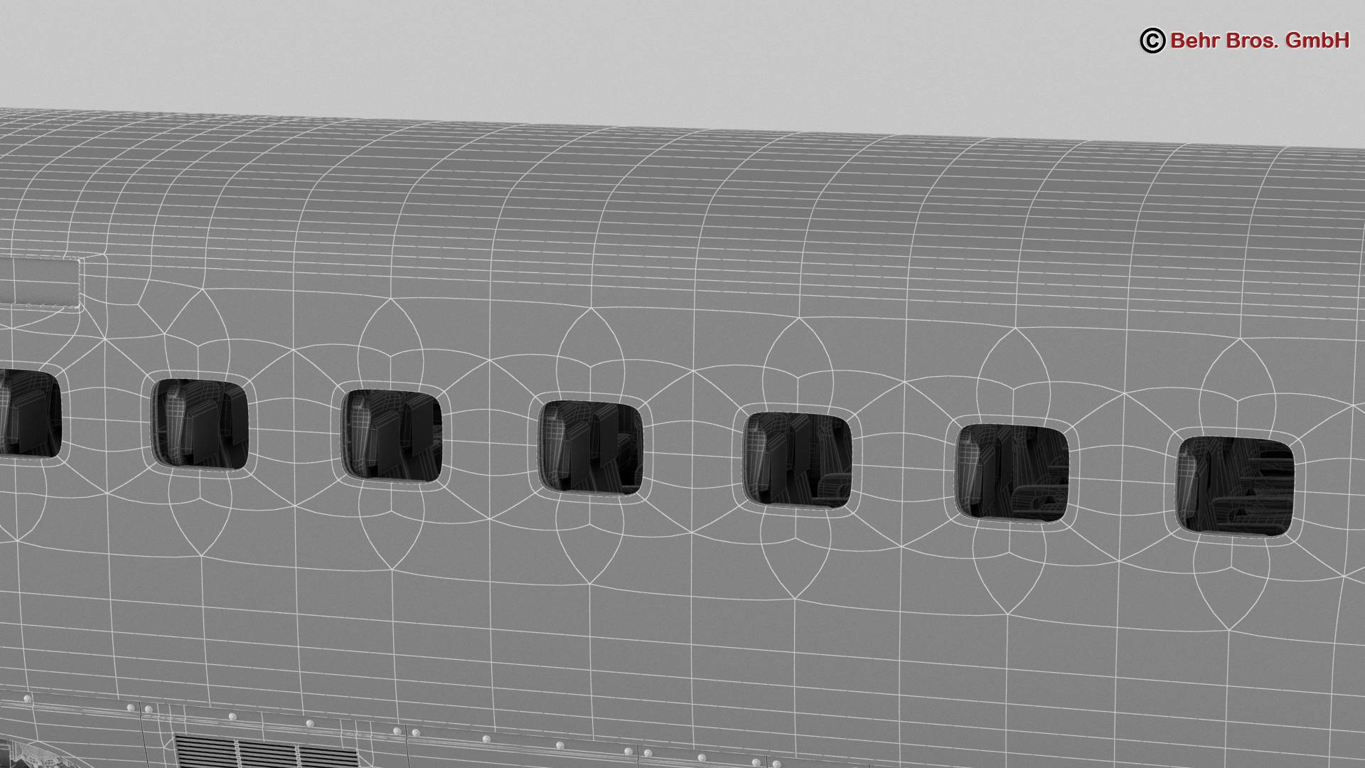 shinkansen e7 3d model 3ds max fbx c4d lwo ma mb obj 265679