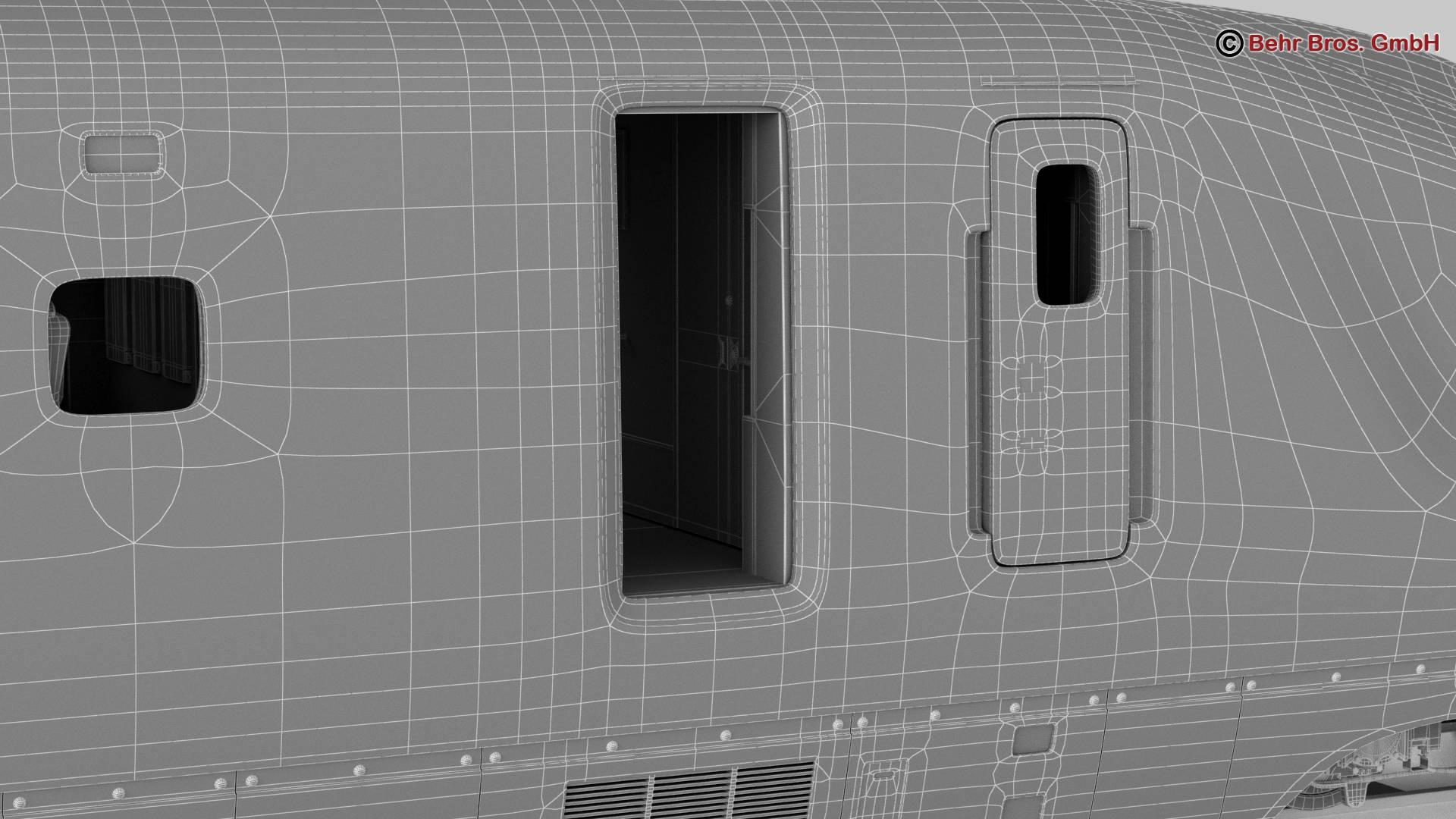 shinkansen e7 3d model 3ds max fbx c4d lwo ma mb obj 265680