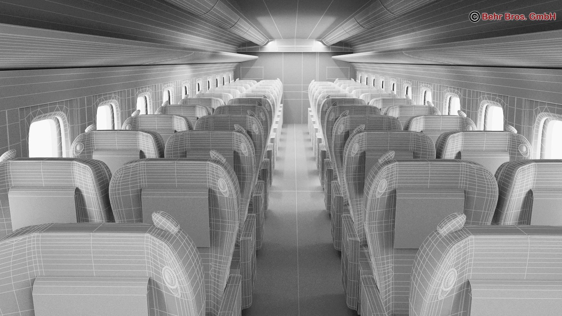 shinkansen e7 3d model 3ds max fbx c4d lwo ma mb obj 265688