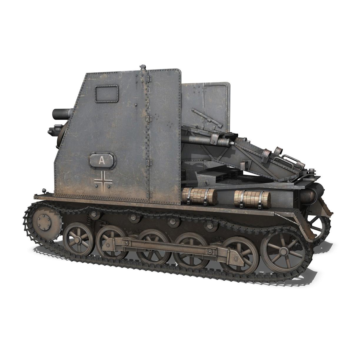 sturmpanzer 1 – bison – alter fritz – 2pzdiv 3d model 3ds fbx lwo lw lws obj c4d 265792