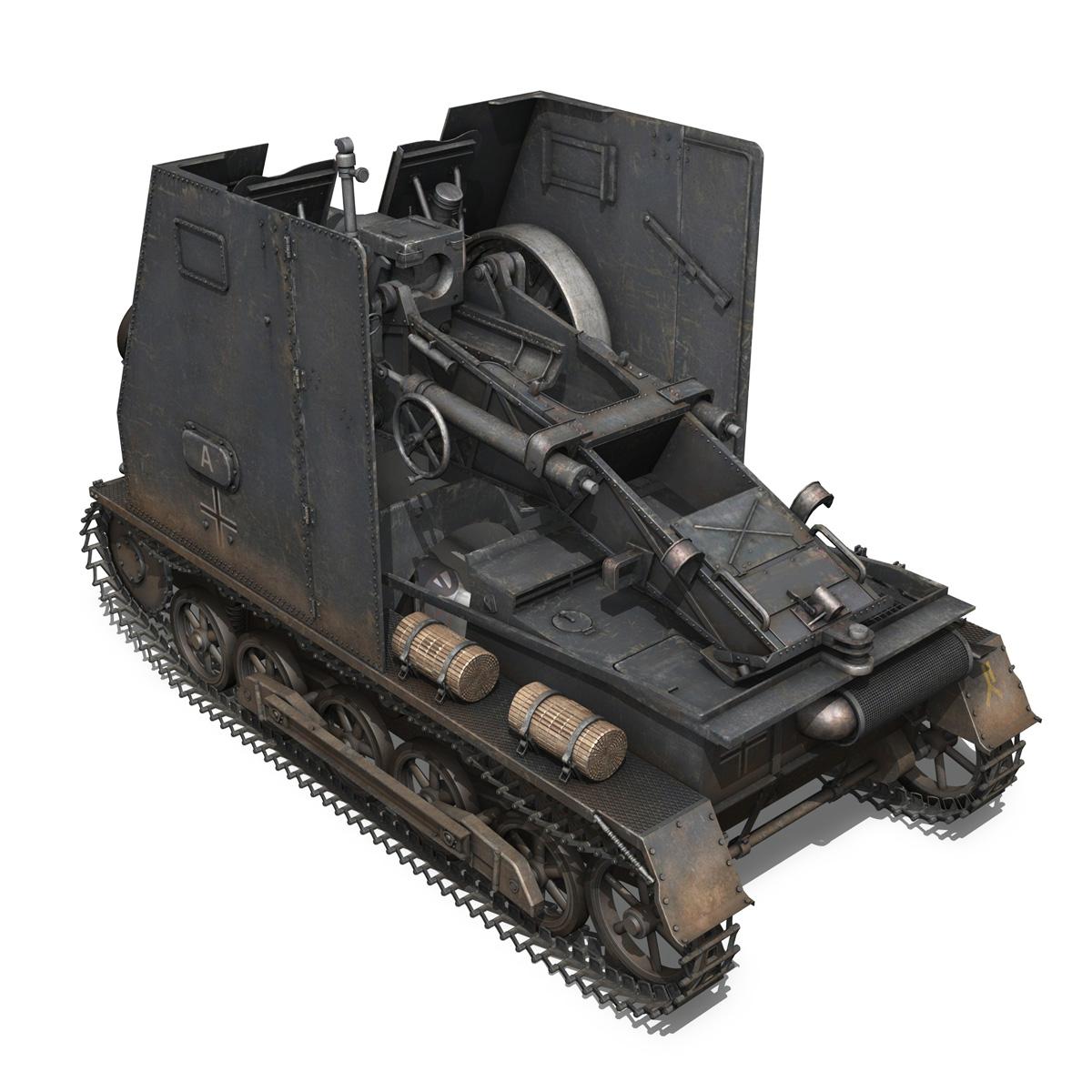 sturmpanzer 1 – bison – alter fritz – 2pzdiv 3d model 3ds fbx lwo lw lws obj c4d 265793
