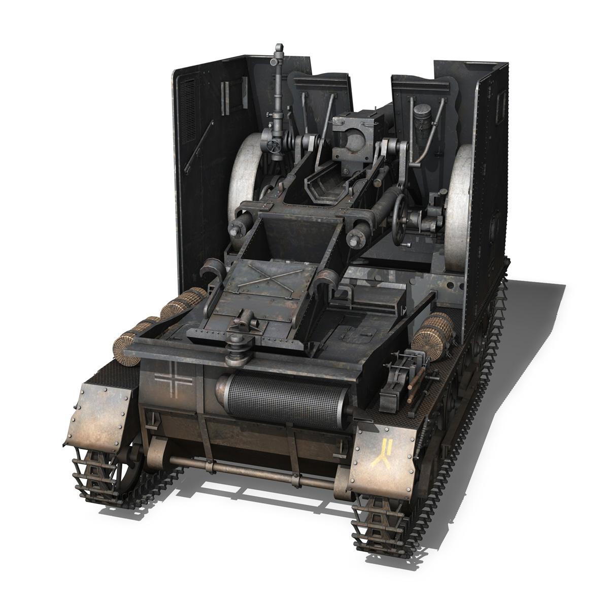 sturmpanzer 1 – bison – alter fritz – 2pzdiv 3d model 3ds fbx lwo lw lws obj c4d 265794